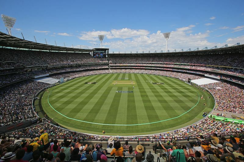 The Melbourne Cricket Ground is second on the list of world