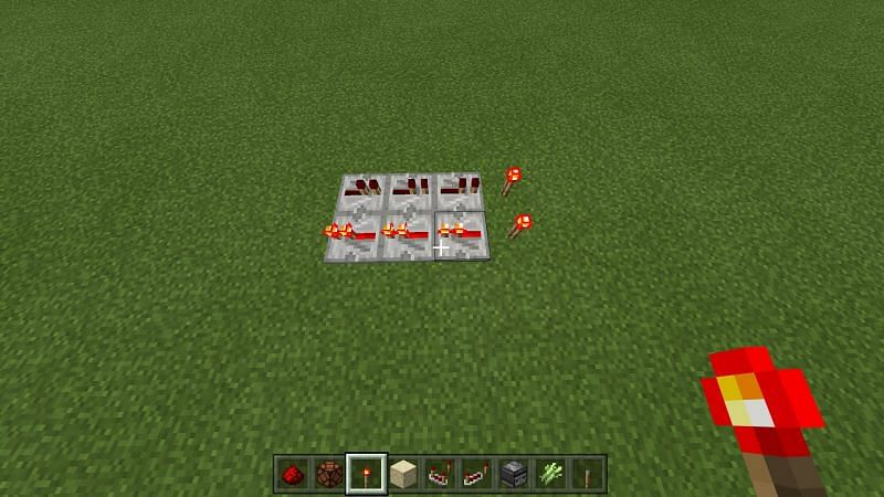 Redstone repeater use