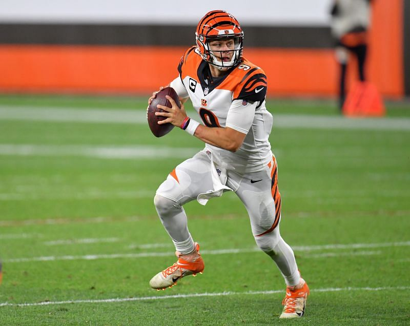 Joe Burrow of the Bengals (1st overall in the 2020 NFL Draft)