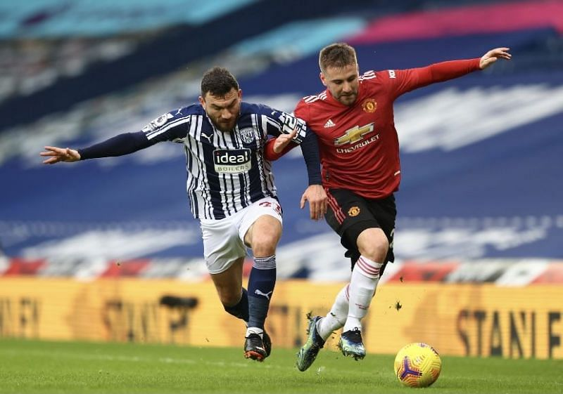 Manchester United were held to a 1-1 draw by West Brom