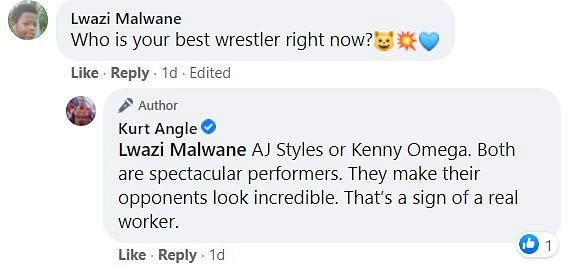 AJ Styles and Kenny Omega are certainly two of the best performers in the ring
