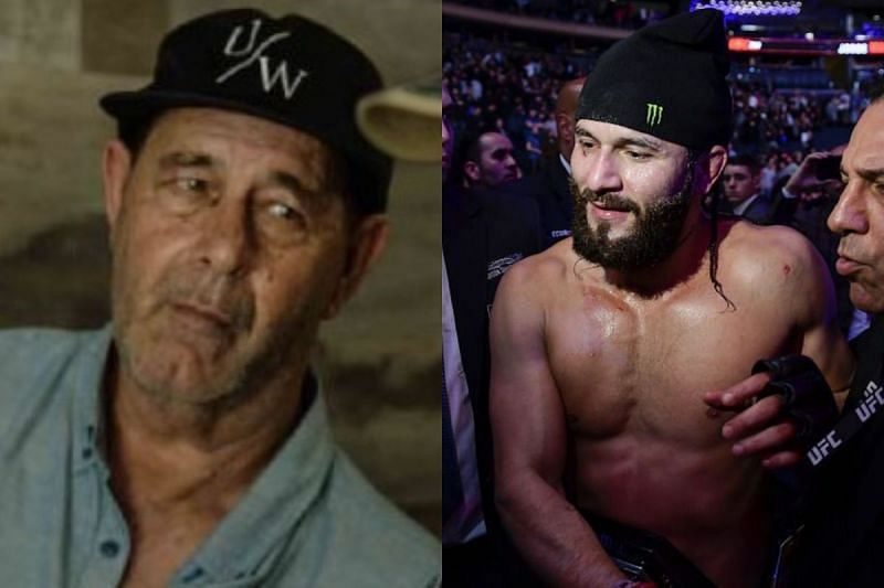 Jorge Masvidal Sr. (left) was serving jail time when his son was fighting in Miami backyards.