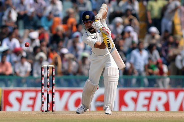 VVS Laxman made a fighting fifty on Test debut at the Motera