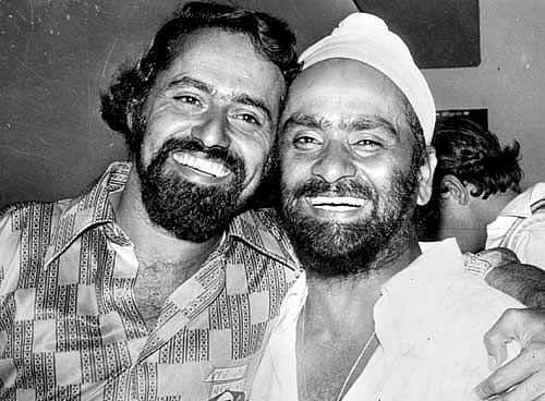 Bhagwath Chandrasekhar and Bishan Singh Bedi