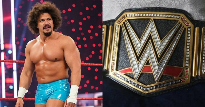 Carlito and the WWE Chamionpship.