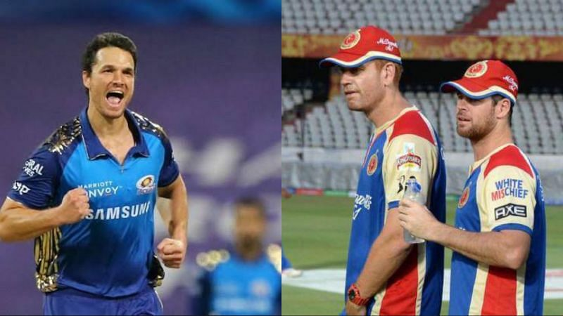 Australian stars Nathan Coulter-Nile and Daniel Christian returned to their former IPL teams