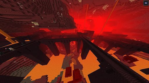 The twisted paths of a Minecraft nether fortress