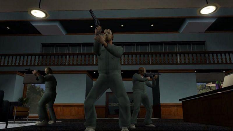 The Job in GTA Vice City (Image via GTA Series Videos, YouTube)