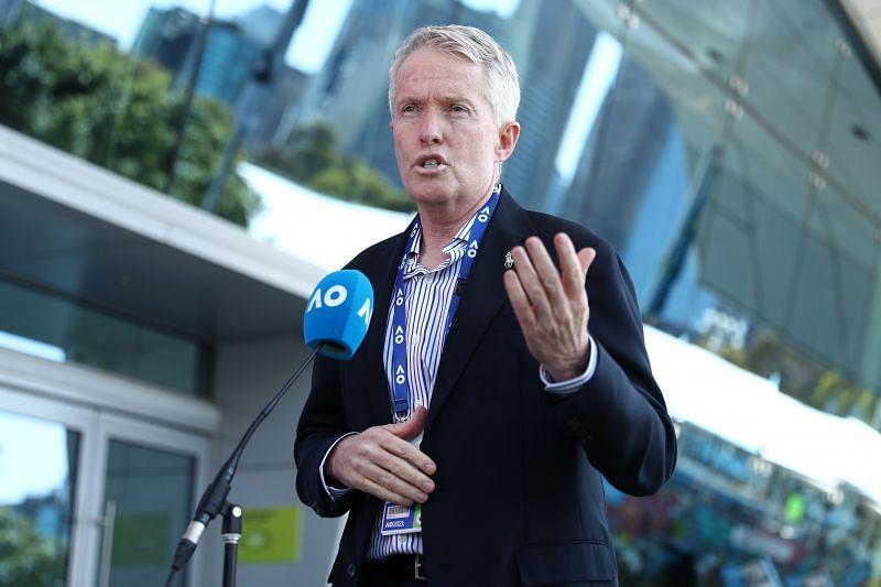 Craig Tiley, the CEO of Tennis Australia
