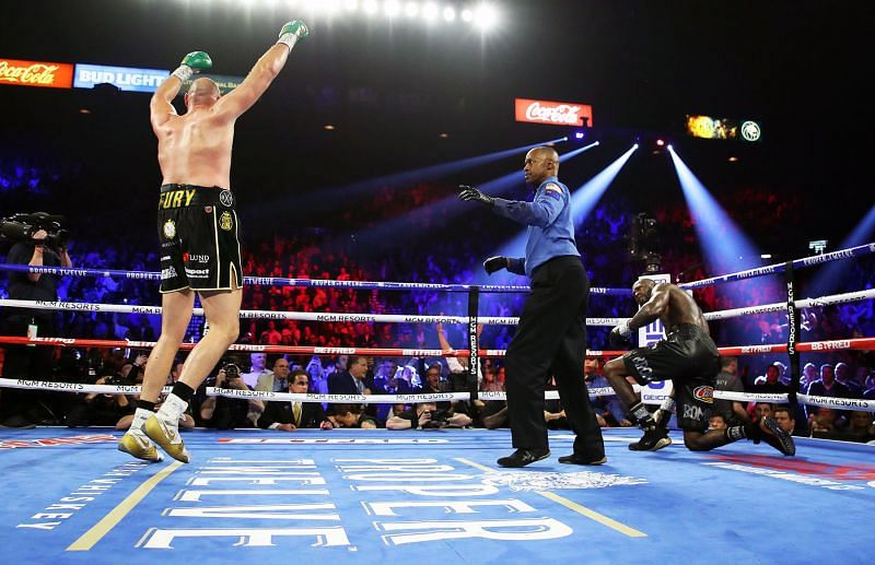 Proper Twelve was the official sponsor of second boxing fight between Tyson Fury and Deontay Wilder