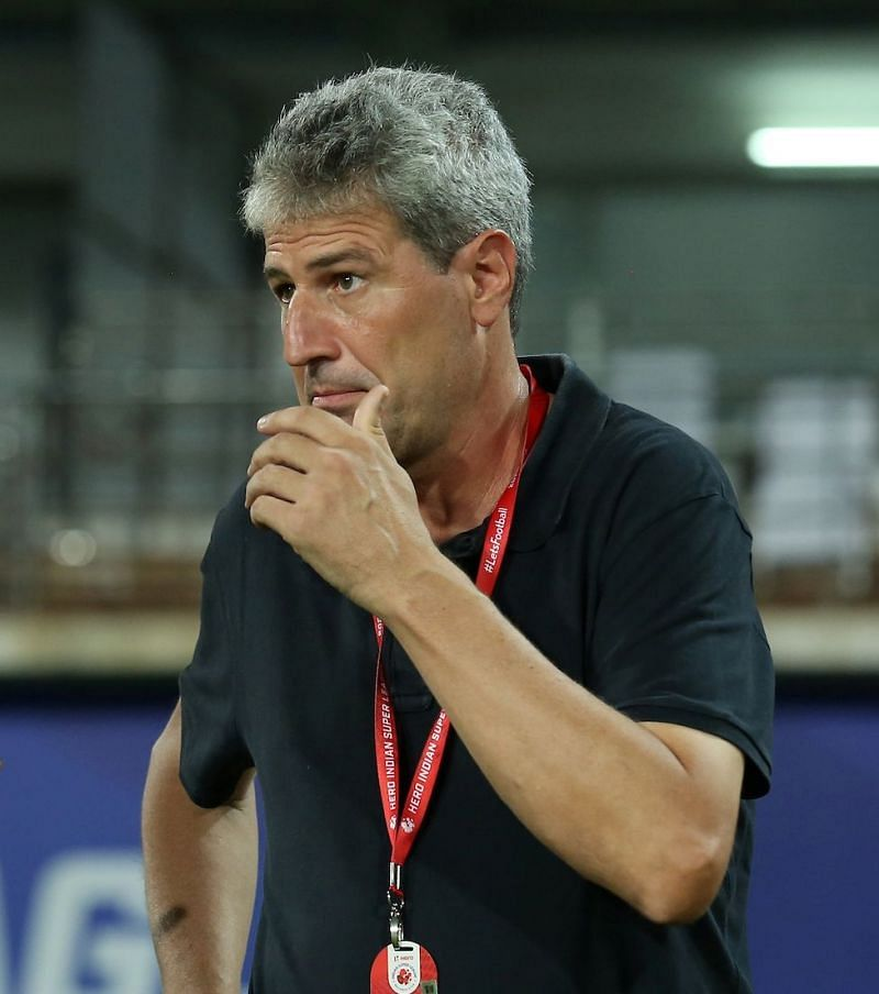 Hyderabad FC are now unbeaten for their last ten games under their head coach Manolo Marquez (Image Courtesy: ISL Media)