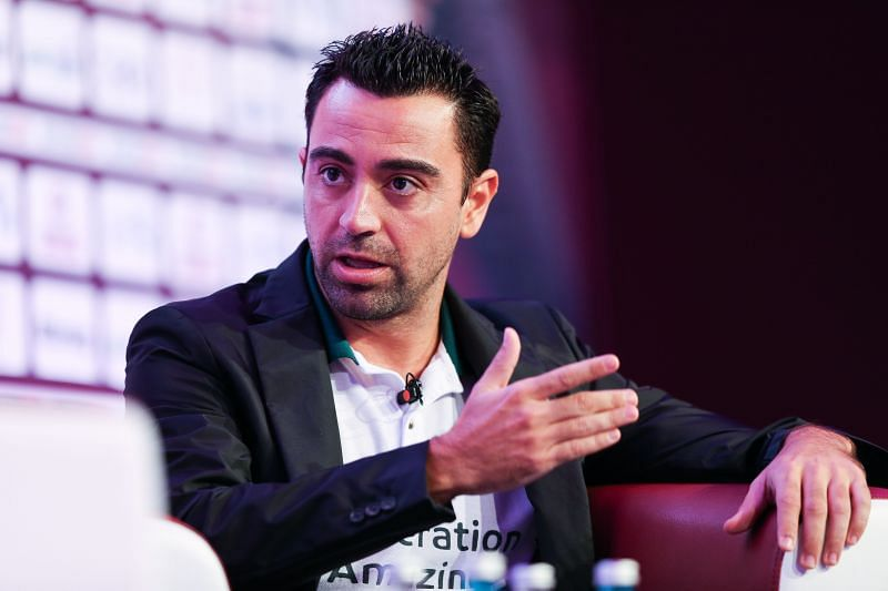 Xavi would like to coach Barcelona in the future