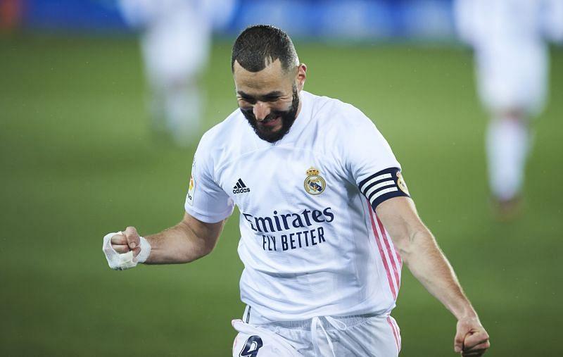 Karim Benzema opened the scoring once again.