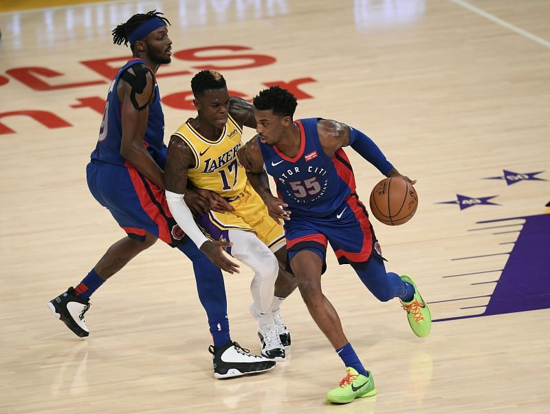 Detroit Pistons vs LA Lakers