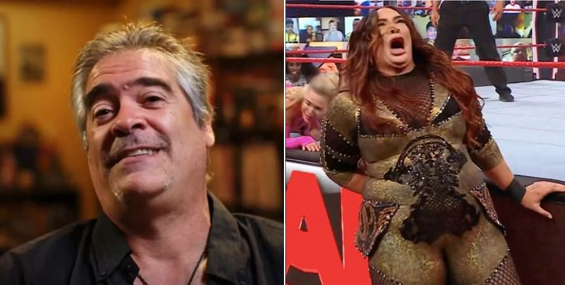 Vince Russo and Nia Jax