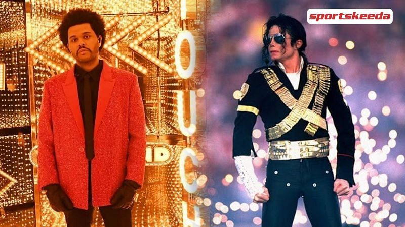 The Weeknd gets compared to Michael Jackson at Super Bowl performance (Image Via Sportskeeda)