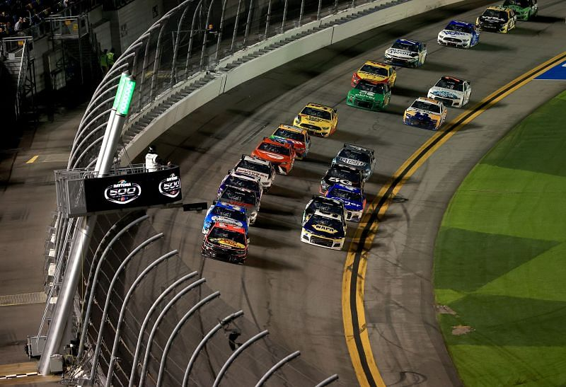 After the Daytona 500, the track