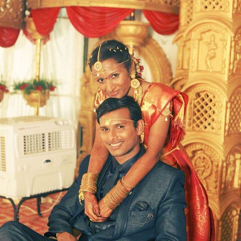 T Natarajan wedding photos