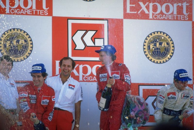 McLaren dominated the Formula 1 circuit with Niki Lauda and Alain Prost.