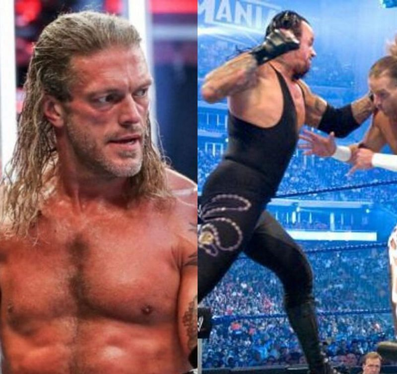 Edge recently talked about some of his favourite WWE matches