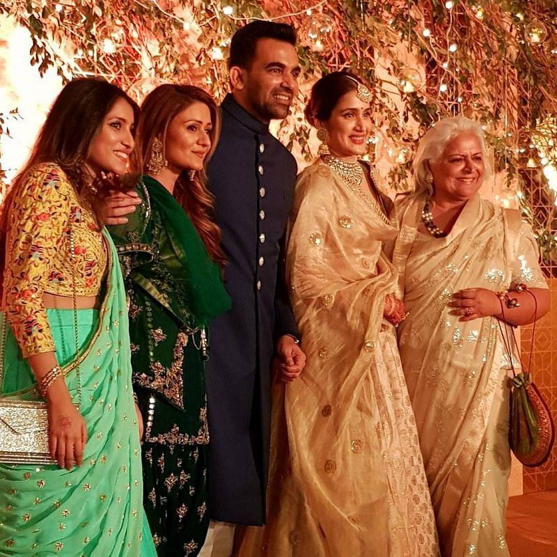 Zaheer Khan's Wedding Reception Photos