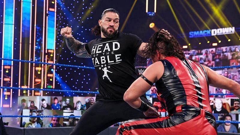 Roman and Jey recently attacked Nakamura in order to have Adam Pearce win a gauntlet match.