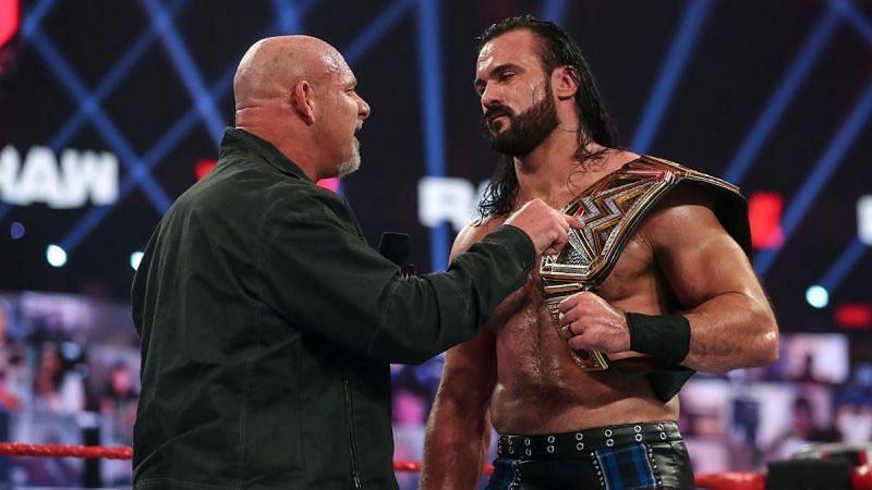 ड्रू मैकइंटायर ने Royal Rumble 2021 में गोल्डबर्ग को हराया था