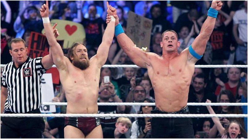 Daniel Bryan and John Cena