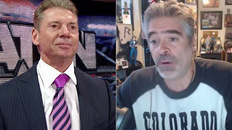 Vince McMahon and Vince Russo