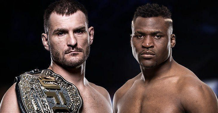 Stipe Miocic and Francis Ngannou are set to collide at UFC 260.