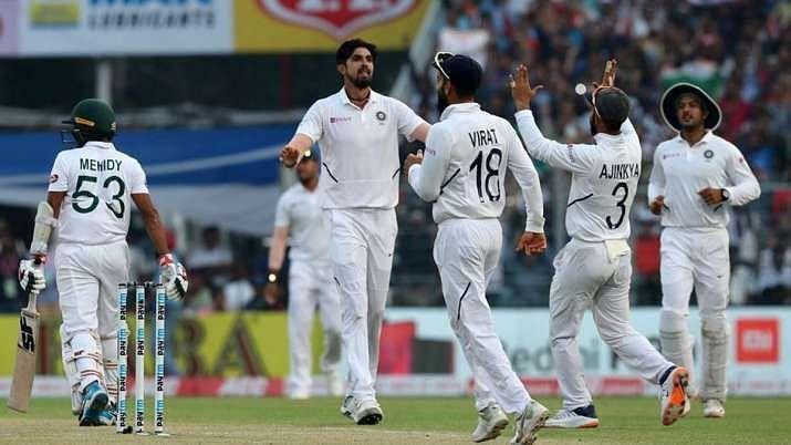 Ishant Sharma picked up nine wickets in the 2019 Day/Night Test in Kolkata.