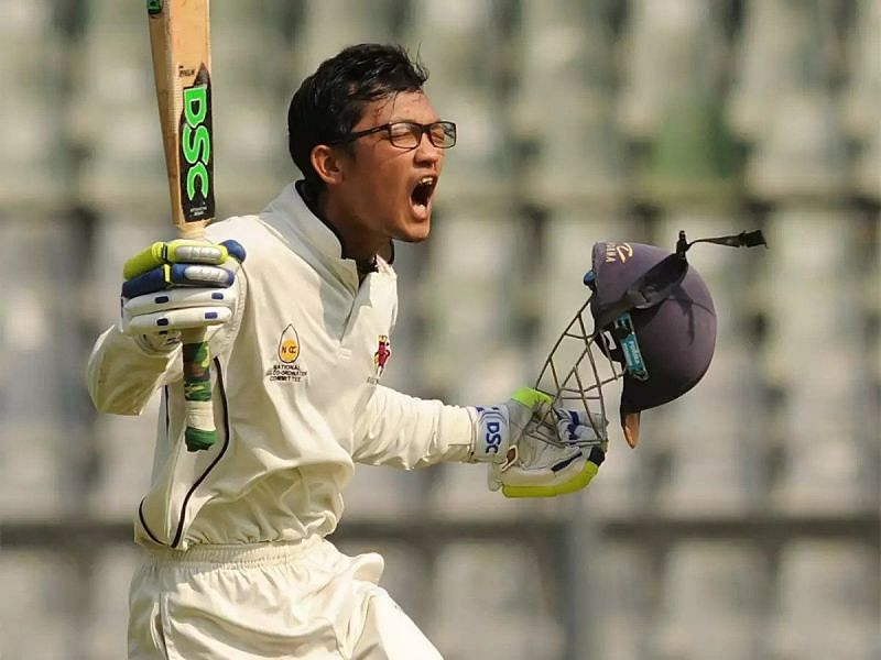 Jai Bista was impressive for Mumbai from the very get-go