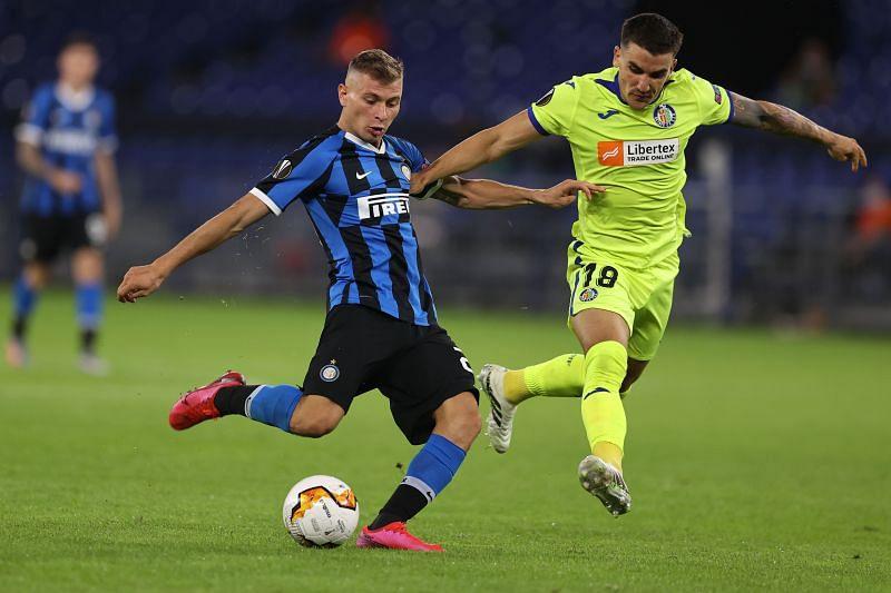 Nicolo Barella in action