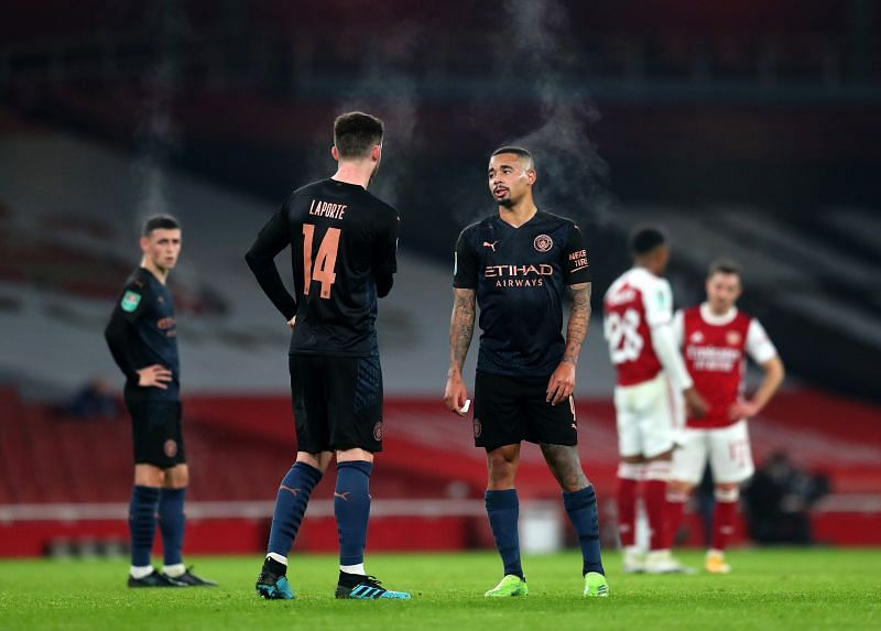 Arsenal face Manchester City this weekend
