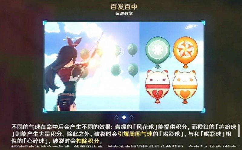 Leaked image of the shooting challenge in the Windbloom Festival (Image via GI info and updates FB)