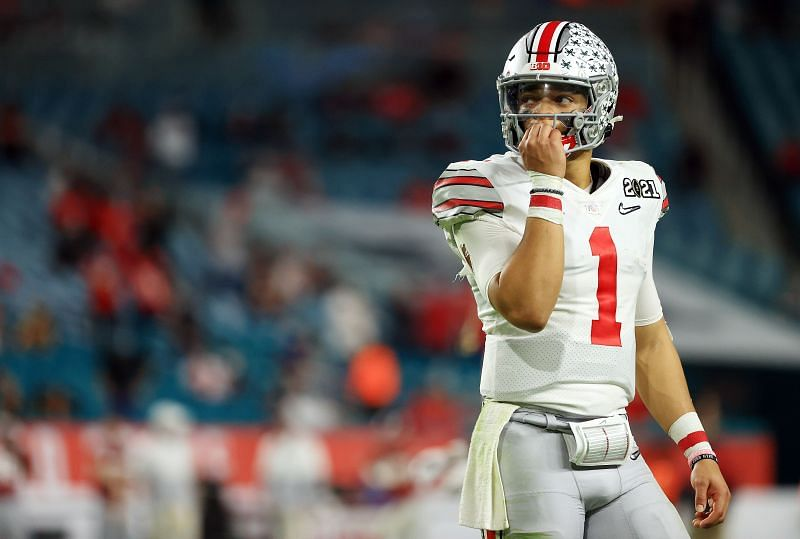 Ohio State QB Justin Fields will need a lot of help if he ends up in Houston