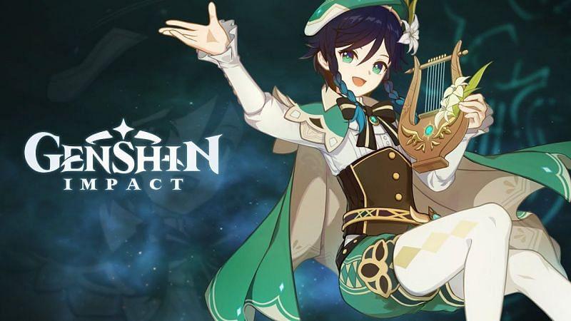 Venti (Image via Genshin Impact Official)