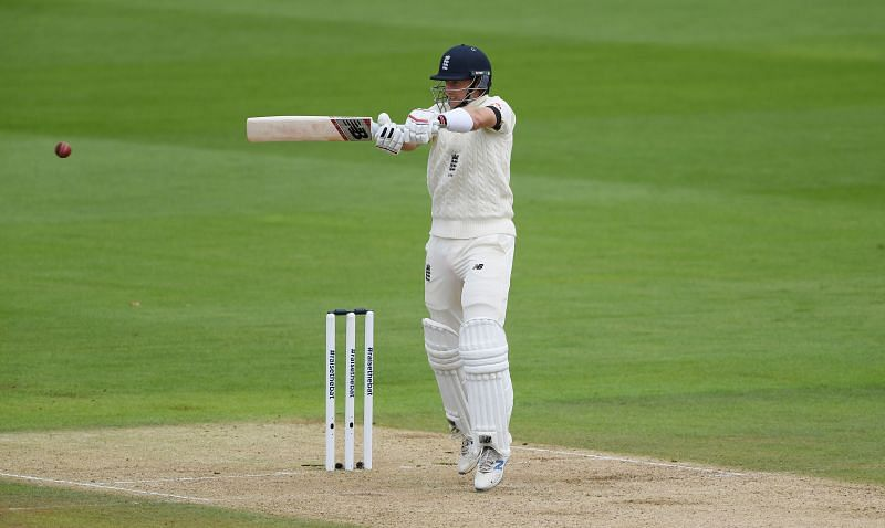 England skipper Joe Root in action