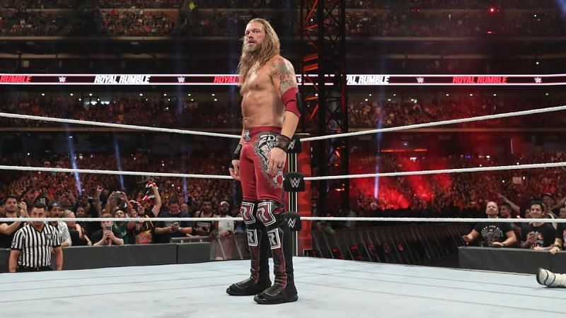 Edge will be challenging for a World Championship at WrestleMania