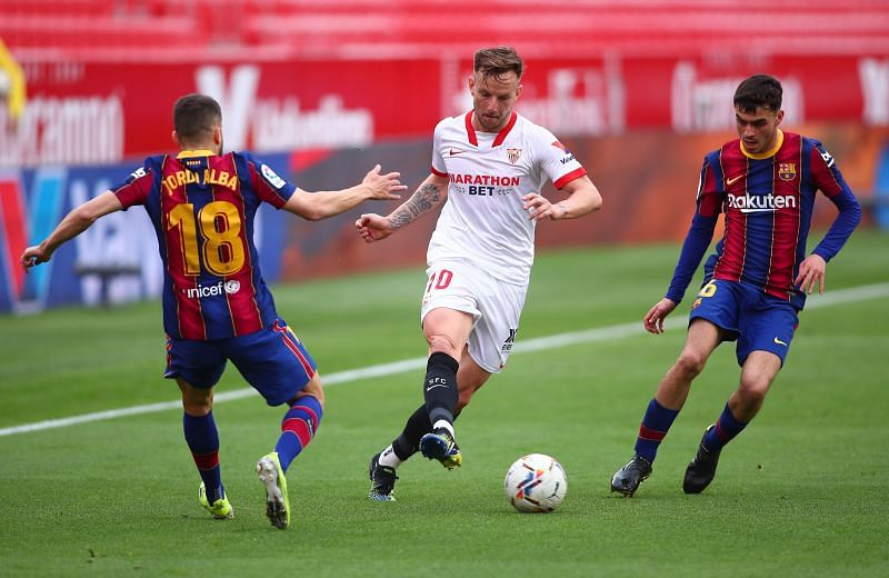 Sevilla FC vs FC Barcelona - La Liga Santander