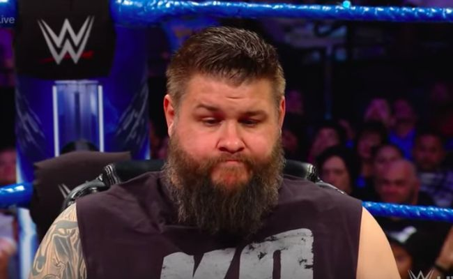 Kevin Owens nearly left the ring in the middle of the match