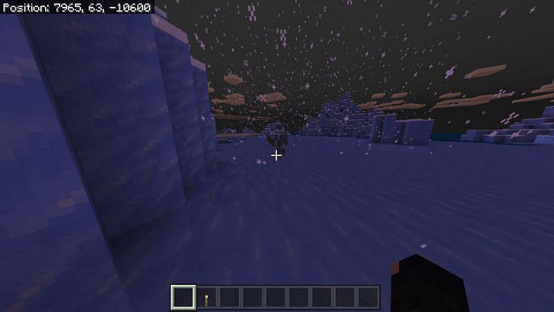 Minecraft Icy Biome