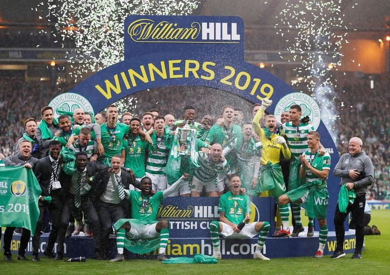 Celtic have won 33 trophies this century