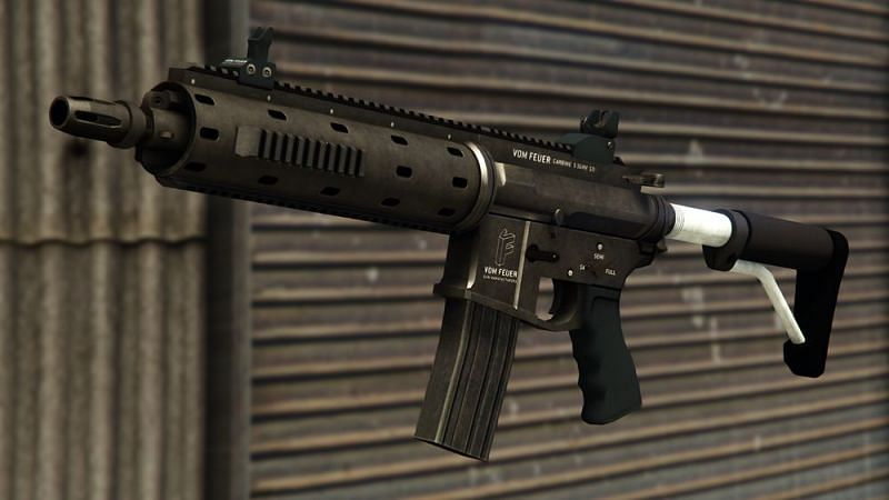 One of the most popular weapons in GTA Online (Image via GTA Wiki)