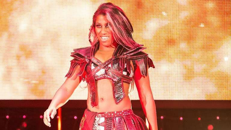 Ember Moon participated in the 2021 WWE Women