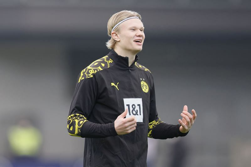 Erling Haaland has been rumoured with a move to the Premier League in the summer.