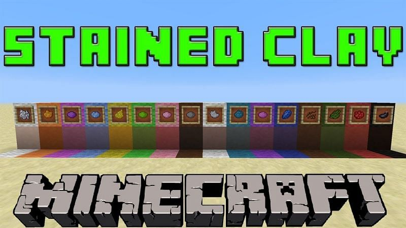 Stained clay requires hardened clay and the dye of choice (Image via AchievedGaming, YouTube)