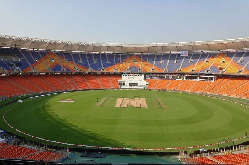 The debate over the Ahmedabad pitch rages on (Image courtesy news18.com)