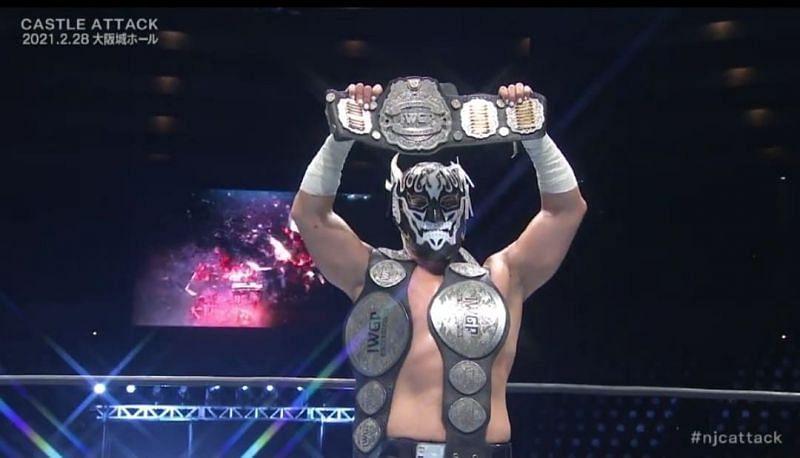El Desperado is the new IWGP Jr, Heavyweight Champion