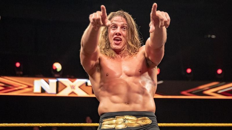 Riddle moved from NXT in 2020